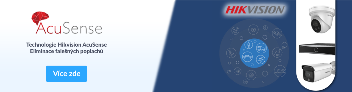 AcuSense technologie - technologie Hikvision Acusense - eliminace falešných poplachů