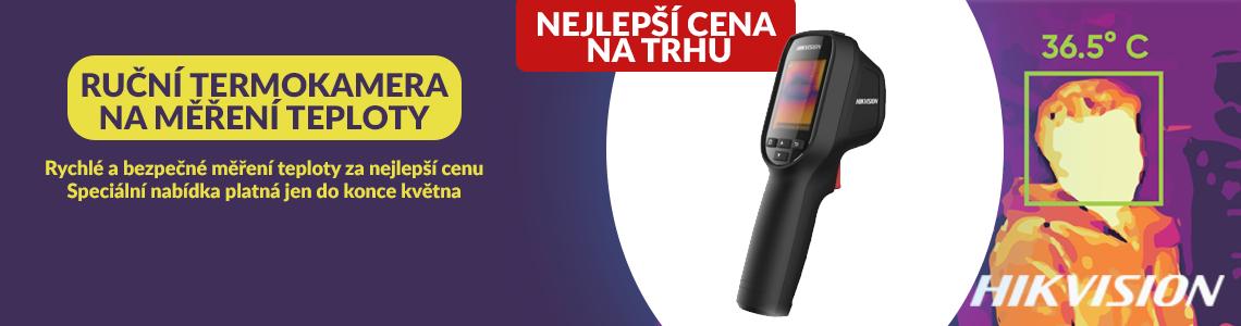 Speciální nabídka, nejlepší cena na trhu, ruční kamera pro měření tělesné teploty.
