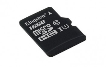 Kingston 16GB Micro SDHC card, Class 10