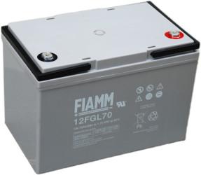 Fiamm 12 FGL70 (12V/70Ah/10let) SLA baterie