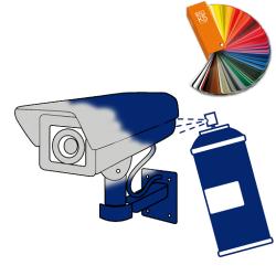 Volitelná barva kamery, montážní patice