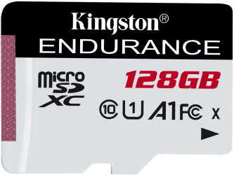 Kingston 128GB microSD XC High Endurance, 95R Class 10 UHS-I U1