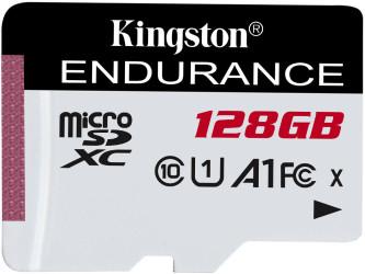 Kingston 128GB microSD XC High Endurance, 95R Class 10 UHS-I U1
