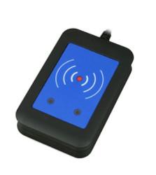 2N externí PC čtečka RFID karet 125 kHz + 13,56 MHz, zabezpečená, USB