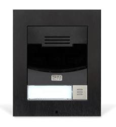 2N 9155301BS IP Solo černý bez kamery na povrch