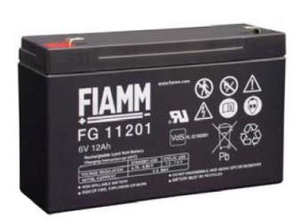 Fiamm FG11201 (6V/12,0Ah - Faston 187)