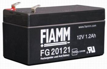 Fiamm FG20121 (12V/1,2Ah - Faston 187 - 48mm)