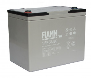 Fiamm 12 FGL80 (12V/80Ah/10let) SLA baterie
